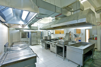 L 39 apport de l 39 architecte de cuisine de restaurant efficace - Amenagement cuisine professionnelle ...