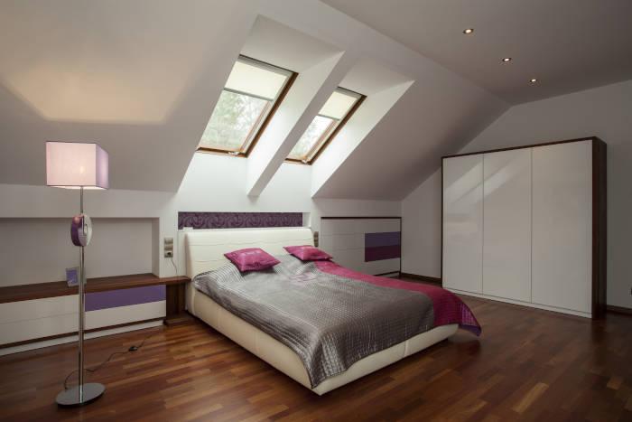Fenêtres de toit à la maison